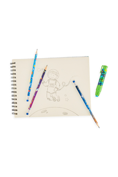 Ooly Astronaut Graphite Pencils - Set Of 12 - Alternate List Image
