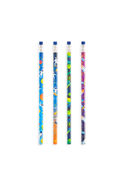 Ooly Astronaut Graphite Pencils - Set Of 12 - Side cropped