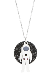 Little Moose Astronaut Pendant Necklace - Product Mini Image