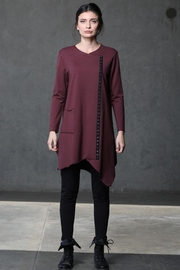 Chalet Asymetrical Long Tunic - Product Mini Image