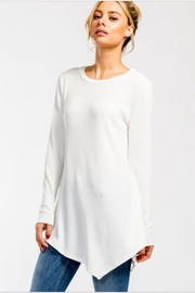 Cherish Asymetrical Tunic Top - Product Mini Image