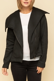 Mystree ASYMM BOTTOM ZIPUP JACKET - Product Mini Image