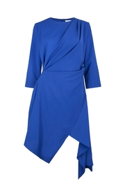 Jovonna  Asymmetric Blue Dress - Product Mini Image