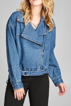 Shoptiques Product: Asymmetric Denim Jacket