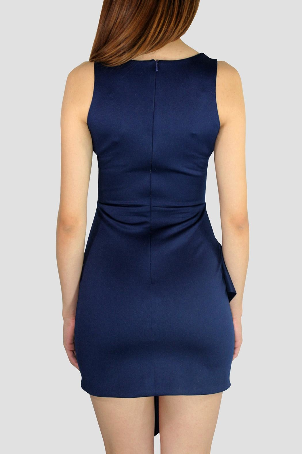 SoZu Asymmetric End Dress - Side Cropped Image