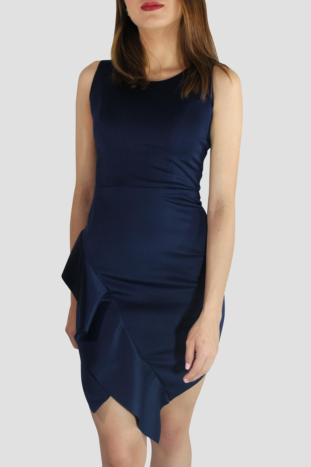 SoZu Asymmetric End Dress - Main Image
