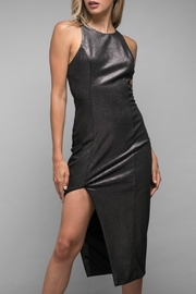 Do & Be Asymmetric Foiled Dress - Product Mini Image