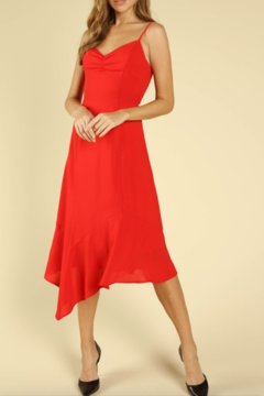 bbaa43594f4c ... Honey Punch Asymmetric Hem Dress - Product List Image