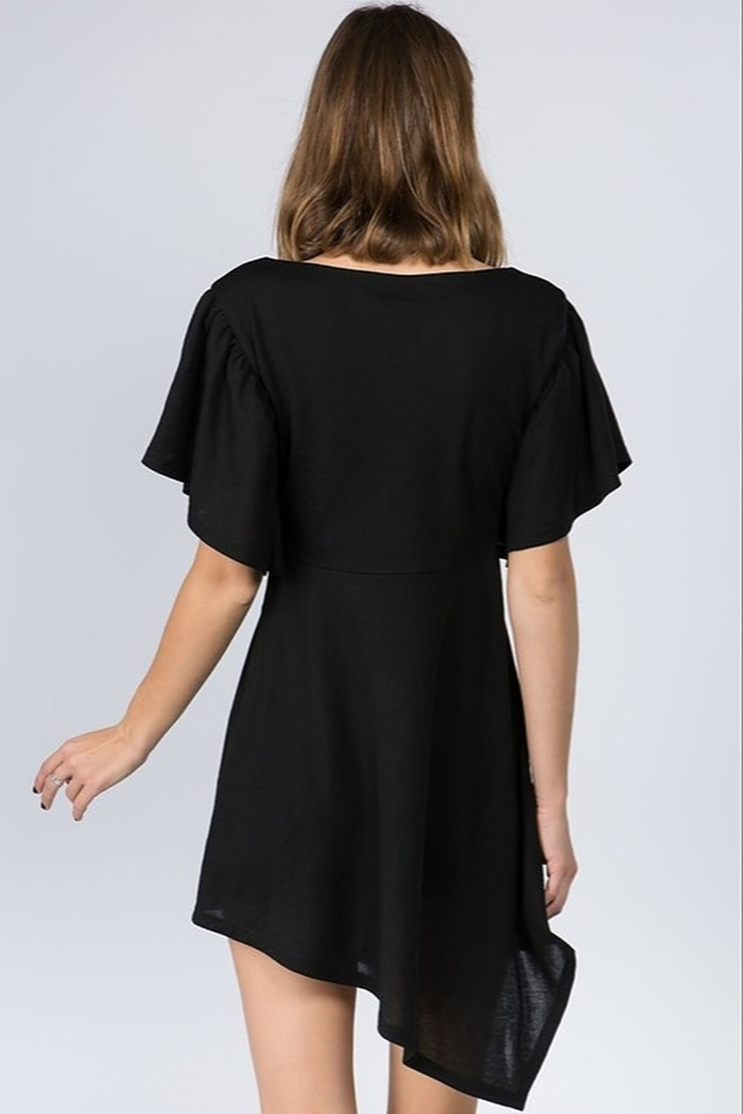 On Twelfth Asymmetric Hem Dress - Front Full Image