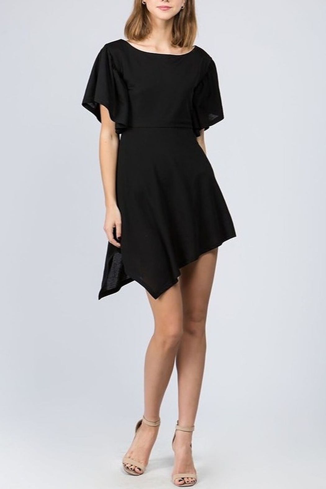 On Twelfth Asymmetric Hem Dress - Main Image