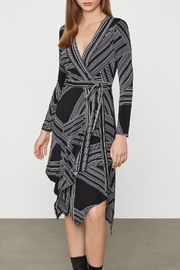 BCBG MAXAZRIA Asymmetric Jersey Knit Dress - Product Mini Image