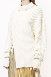 Proenza Schouler Asymmetric Ribbed Jumper - Product Mini Image