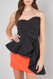 Do & Be Asymmetric Ruffle Top - Product Mini Image