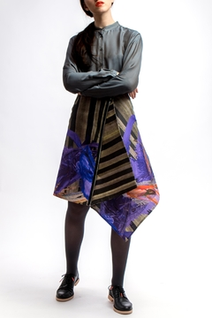 Clara Kaesdorf Asymmetric Skirt Dark - Product List Image
