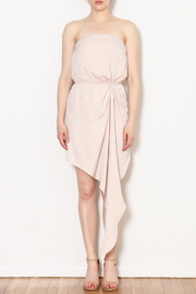 Alythea Asymmetric Tube Dress - Product Mini Image