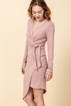 Shoptiques Product: Asymmetric Wrap Dress
