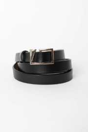 Leto Accessories Asymmetrical Buckle Cinch Waist Fashion Belt - Product Mini Image