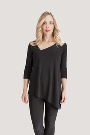 Sympli Asymmetrical Cold-Shoulder Top - Product Mini Image