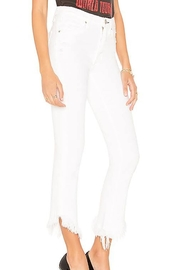 MCGUIRE DENIM Asymmetrical Cropped Jeans - Front full body