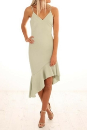 Elliatt Asymmetrical Dress - Product Mini Image