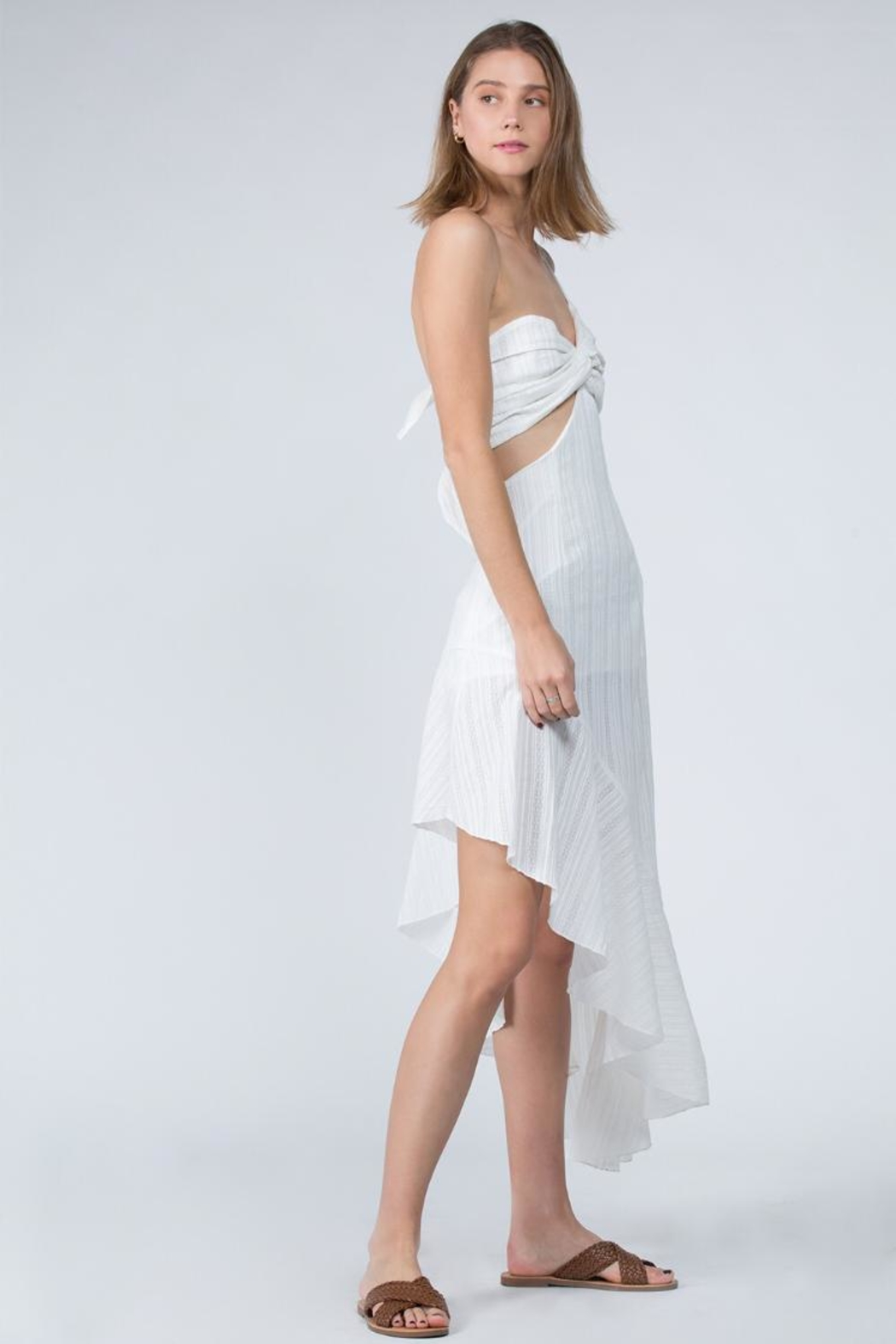 FANCO Asymmetrical Dress - Front Full Image