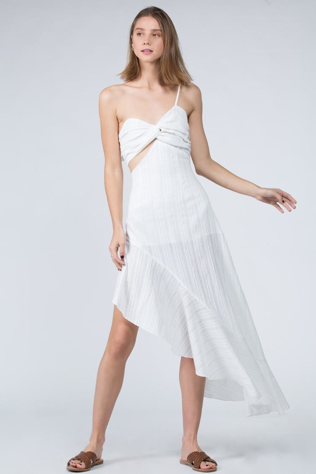 FANCO Asymmetrical Dress - Main Image