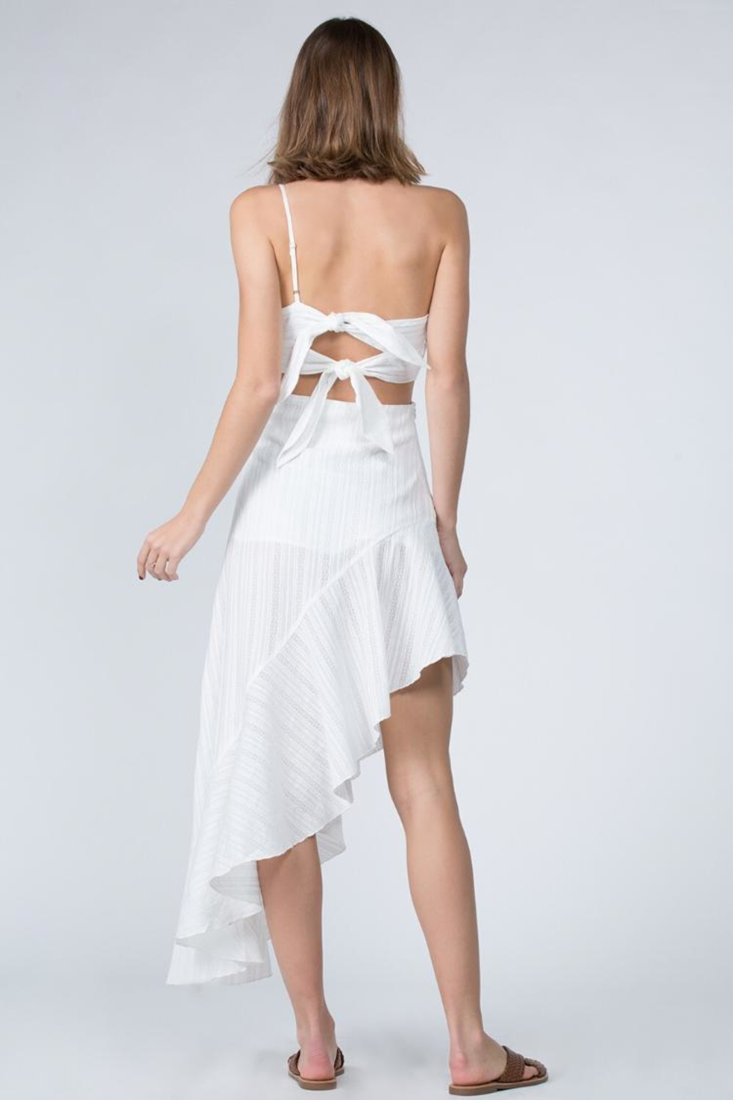 FANCO Asymmetrical Dress - Side Cropped Image