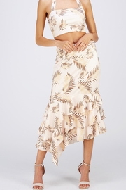 Blithe  Asymmetrical Floral Skirt - Product Mini Image
