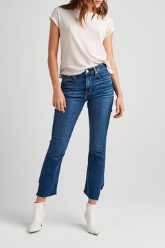 Hudson Asymmetrical Hem Crop - Product List Image