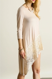 People Outfitter Asymmetrical Lace Tunic - Product Mini Image