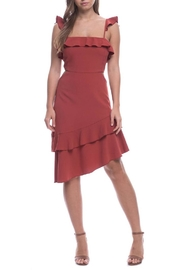 Endless Rose Asymmetrical Midi Dress - Product Mini Image