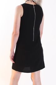 Talk of the Walk Asymmetrical Overlay Dress - Back cropped