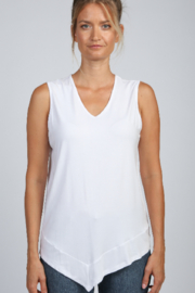 Articles of Society Asymmetrical Rib Hem Tank - Front cropped