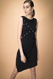 Pinko Asymmetrical Studded Dress - Front cropped