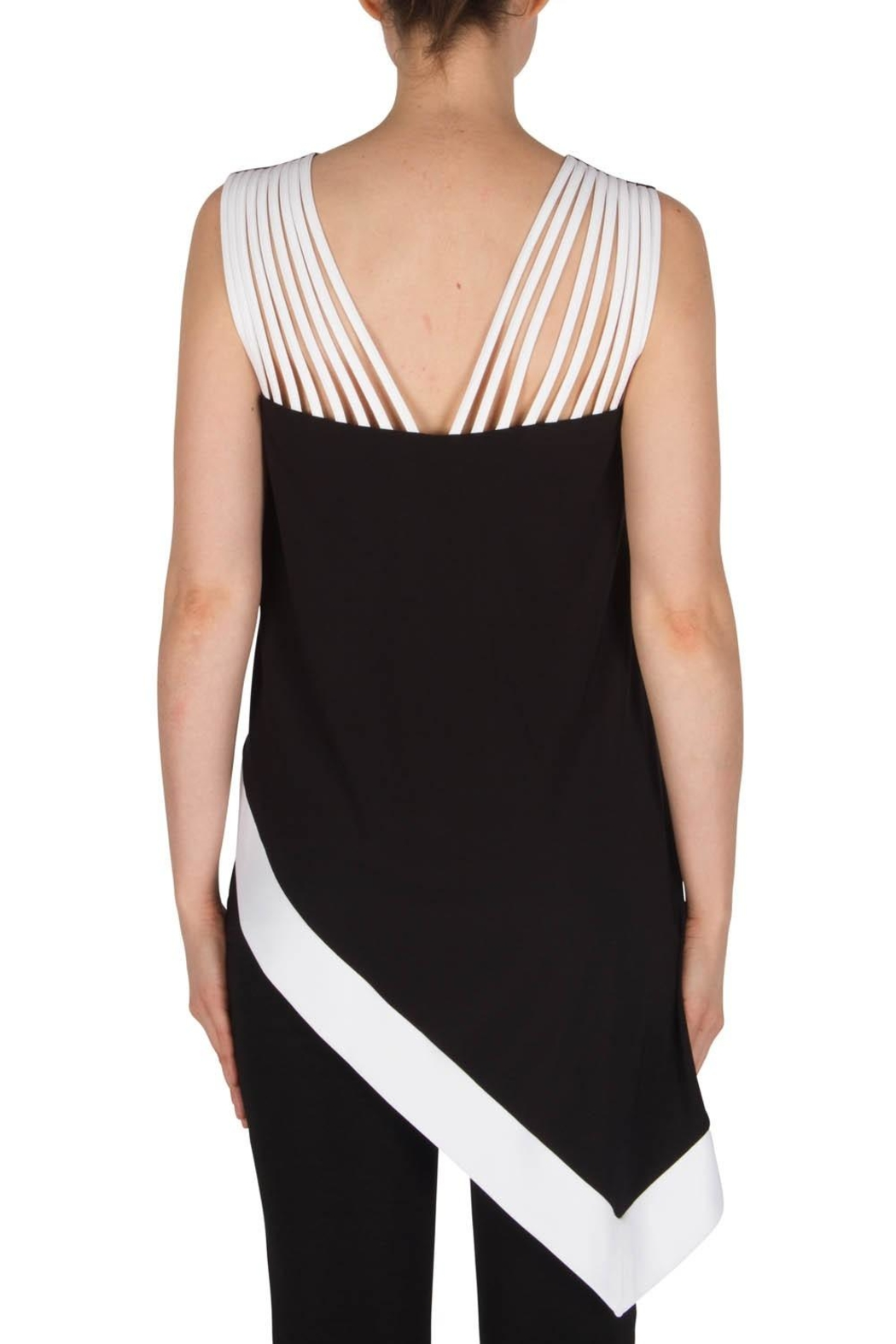 Joseph Ribkoff Asymmetrical  Top - Front Full Image