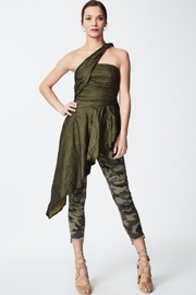 Nicole Miller Asymmetrical Top - Back cropped