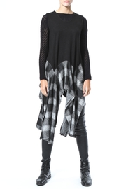 Madonna & Co Asymmetrical Tunic Vest - Product Mini Image