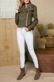 Mainstrip Asymmetrical Zipper Jacket - Product Mini Image