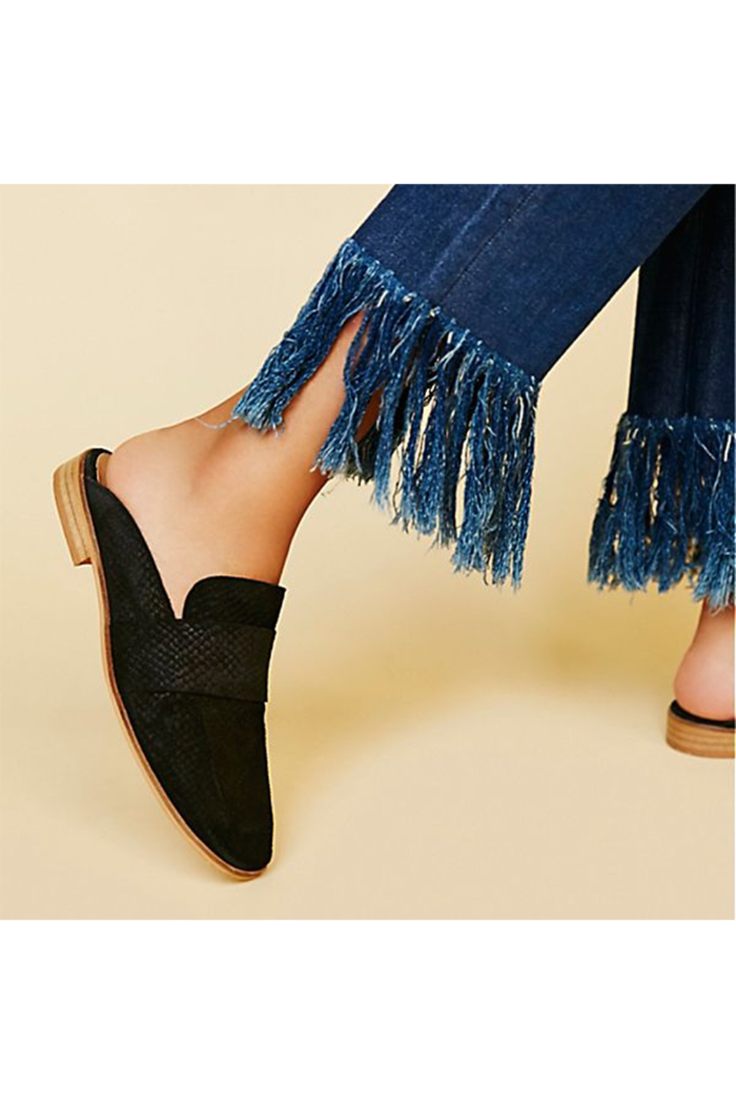 Free People Shoes At Ease Loafer Black - Main Image