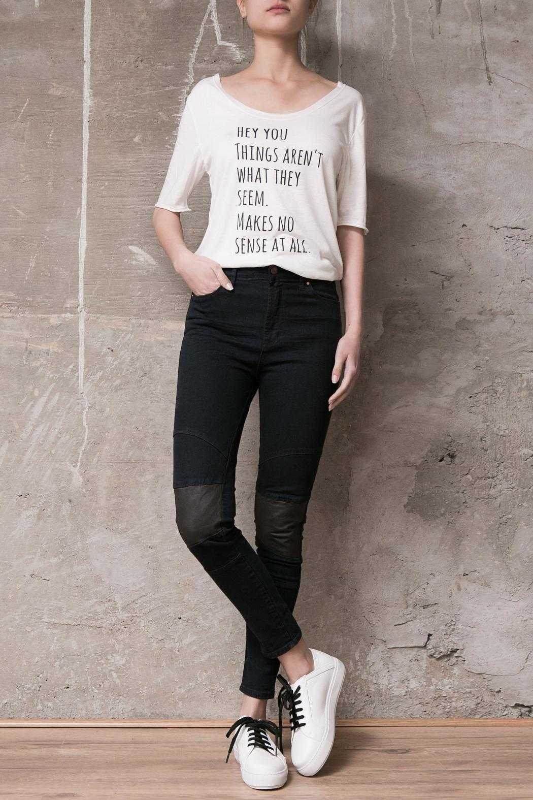 Atelier B.A. Amy Skinny Jean - Front Cropped Image