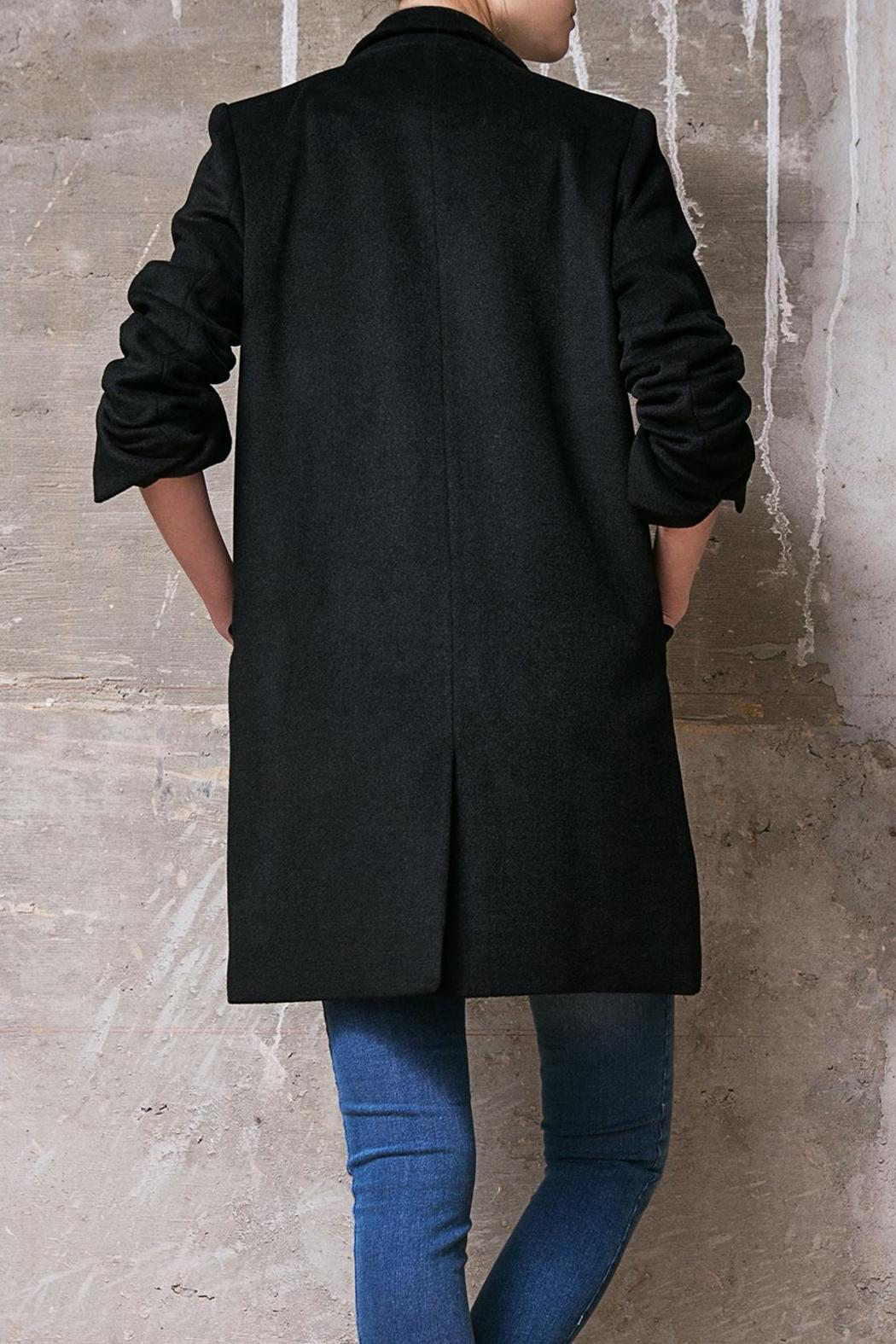 Atelier B.A. Azabache Coat - Side Cropped Image