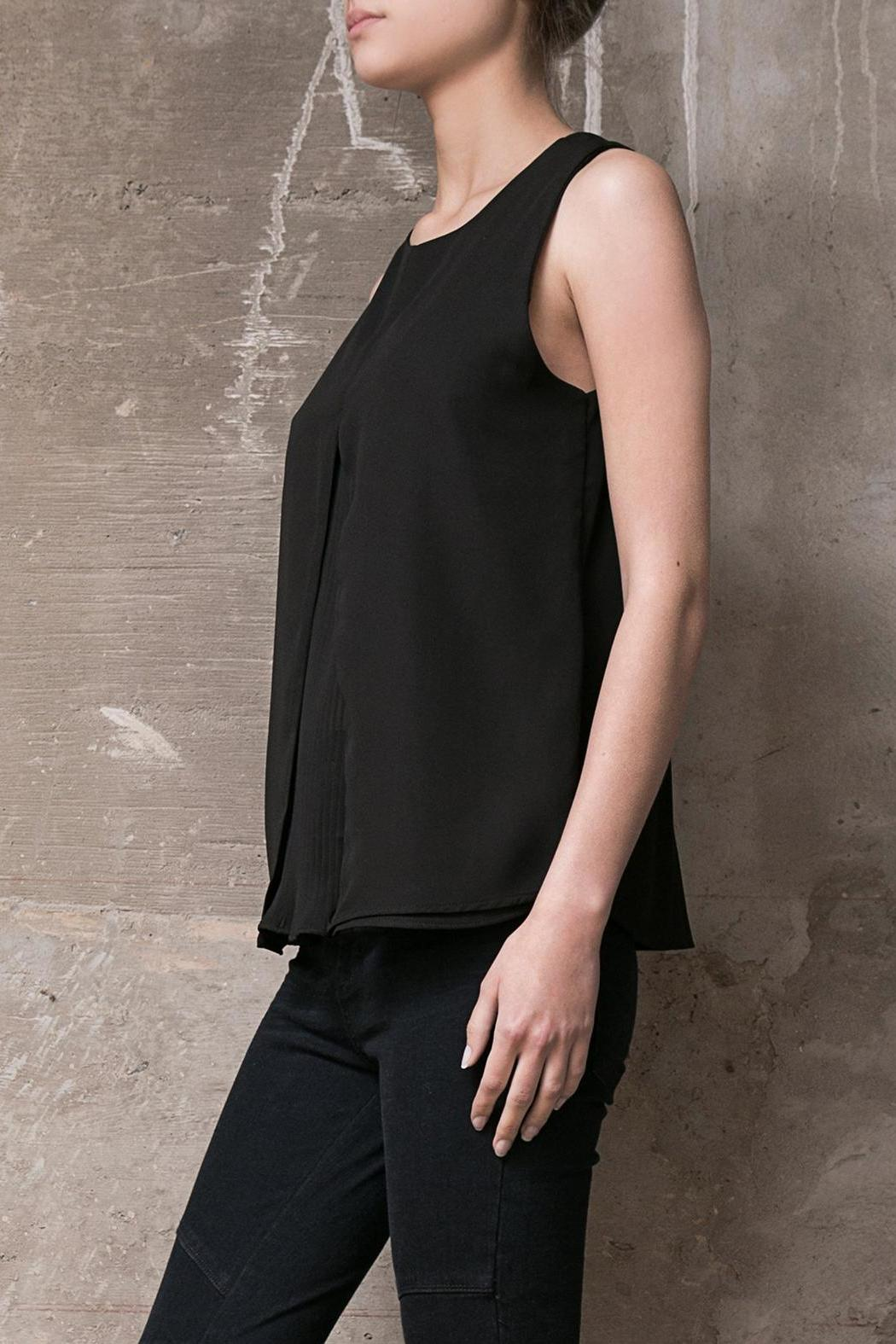 Atelier B.A. Black Azabache Top - Front Full Image
