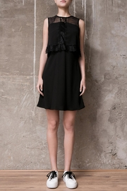 Atelier B.A. Black Dress Azabache - Front cropped