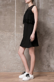 Atelier B.A. Black Dress Azabache - Front full body
