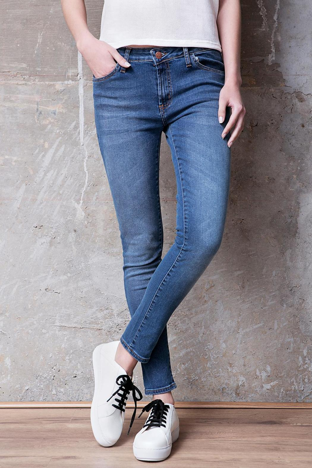 Atelier B.A. Charcas Skinny Jean - Front Full Image
