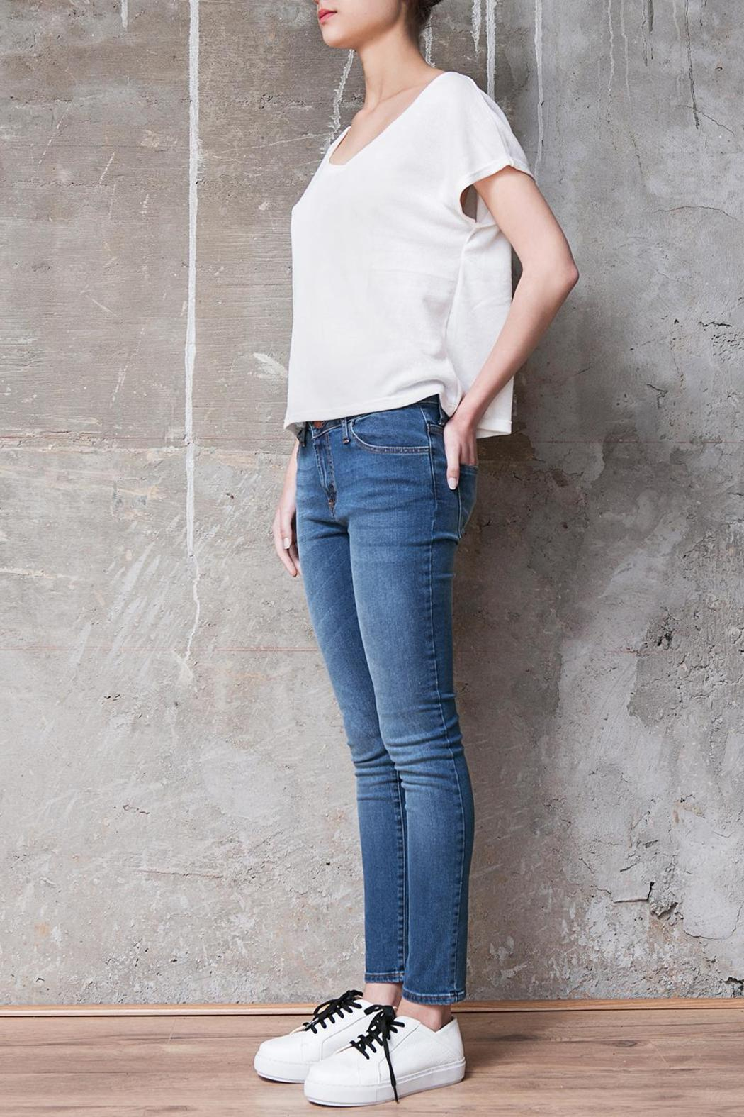 Atelier B.A. Charcas Skinny Jean - Back Cropped Image