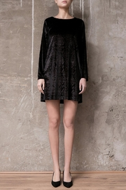 Atelier B.A. Velvet Dress Cuarzo - Product Mini Image