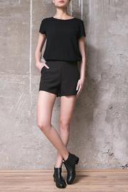 Atelier B.A. Jackie Black Shorts - Front cropped