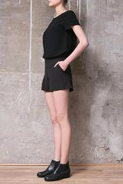 Atelier B.A. Jackie Black Shorts - Front full body