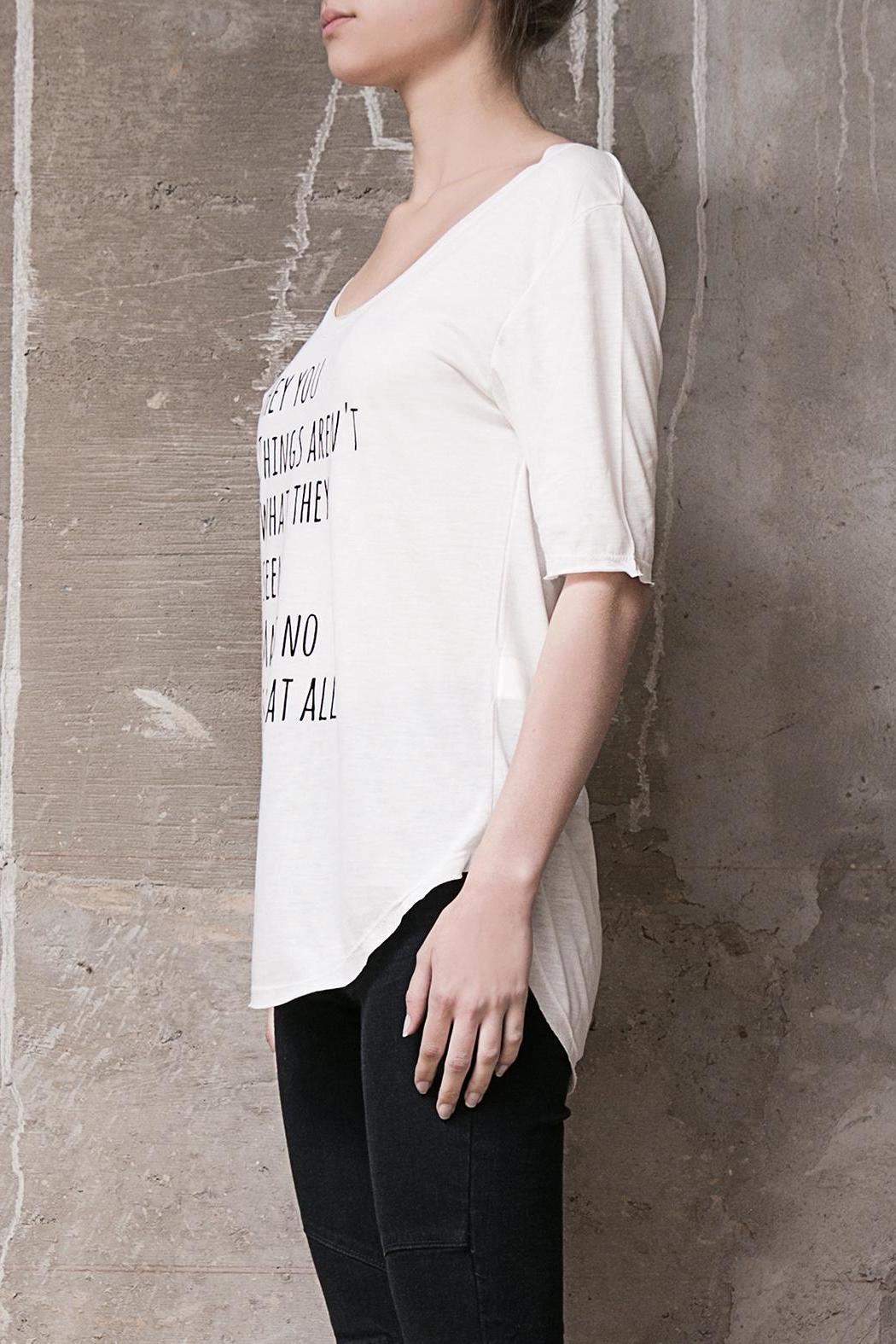 Atelier B.A. Jazmin T-Shirt - Side Cropped Image